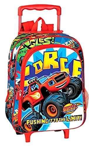 Imagen de montichelvo blaze carro  infantil, 37 cm, rojo