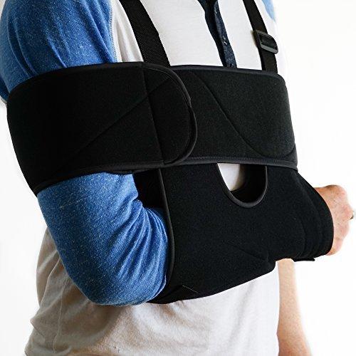 Flexguard Support Sling Schulter Immobilizer - voll verstellbaren Arm - Komfort Polsterung Unterstützung - für Erwachsene klein -
