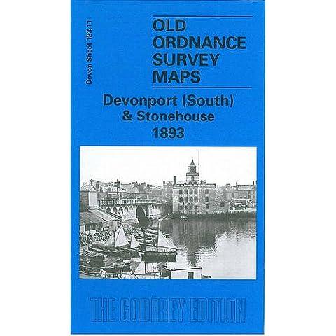 Devonport (South) and Stonehouse 1893: Devon Sheet 123.11