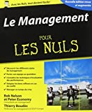 Le management pour les Nuls by Bob Nelson (2014-09-04) - Editions First - 04/09/2014