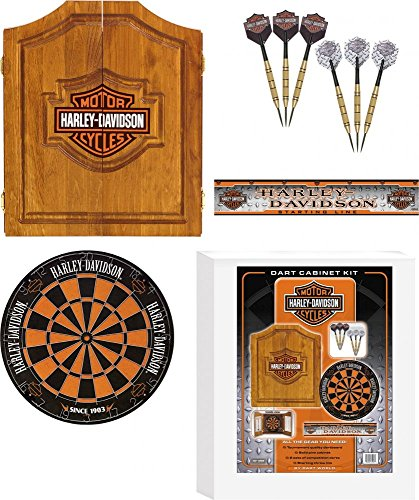 *Harley-Davidson Bar & Shield Darts Kit*