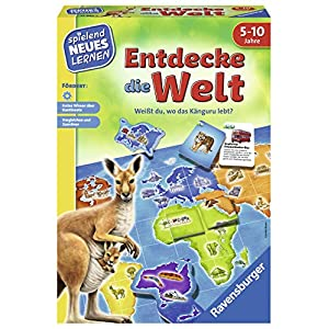 Ravensburger 24990 Explore The World Game