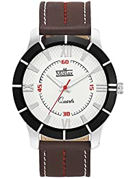 Monax White Dial Analog Watch For Men & Boys MM0111