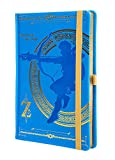 The Legend Of Zelda–Breath Of The Wild A5| taccuino in blu chiaro | Originale Nintendo Merchandise
