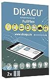 2x Disagu FullFlex Displayschutzfolie Displayfolie für Huawei P8 Lite (2017) (Blasenfreie Montage, für Geräte mit gebogenem Display)
