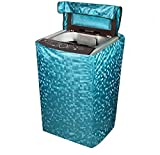 #10: Micra Sissley Finish Top Load Washing Machine Cover ( Delicate Green ) -All Brands (6 - 7.5 Kg)