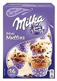 Milka Mini Muffins, Backmischung, Schokolade, 270 g, 3er Pack (3 x 270 g)
