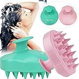 2PCS Hair Scalp Massager Shampoo Brush,Scalp Massager for Hair Growth, Head Massager Shower