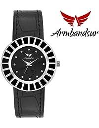 Armbandsur black elegant watch for women-ABS0066GSB