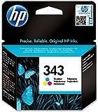 HP 343 Dreifarbig Original Druckerpatronen für HP Deskjet, HP Officejet, HP Photosmart, HP PCS