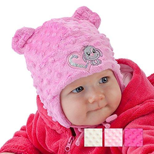 Bébé fille filles Enfant Chapeau Automne Hiver Chaud Bonnet 0 3 6 9 12 18 24 fda593e3275