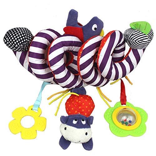 Kostüm Baby Age Ice - Bobopai Kids Baby Lovely Cartoon Animal Handbells Baby Stroller Hanging Bell Infant Bassinet Baby Spiral Bed Soft Toy Rattle