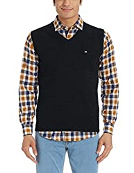 Arrow Sports Mens Wool Sweater (8907036914009_AKOS8081_Small_Black)