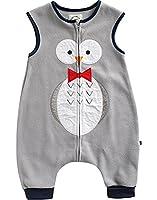 [Free Shipping]Vaenait Baby 1-7 Yrs Fleece Kids Wearable Blanket Sleepsack Sleeping Tie Owl M