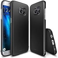 Funda Galaxy S7 Edge, Ringke [SLIM] El Color de Tono Suave Perfecto Delgado Translúcido Ligero Fuerte Funda para Samsung Galaxy S7 Edge 2016 - Black