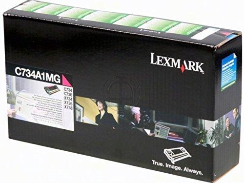 Preisvergleich Produktbild Lexmark X 736 DE (C734A1MG) - original - Toner magenta - 6.000 Seiten