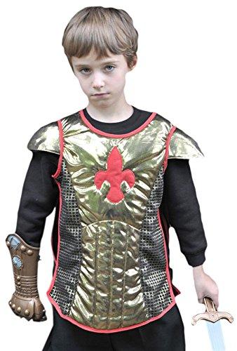 erdbeerloft - Jungen Karneval Komplett Kostüm Ritter , Mehrfarbig, Größe 98-110, 3-5 Jahre