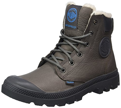 Palladium Unisex-Erwachsene Pampa Sport Cuff Wps Combat Boots Grau (004)