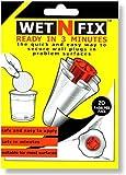 WETNFIX - Lote de 20 discos para fijación de tacos rápidamente sin necesidad de rellenar ni de volver a taladrar -