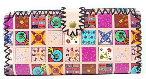 Trendit Set di valigie bianco rosa