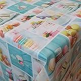 Wachstuch Candy Bunt Eckig 130x250 cm · Classic Line - Länge , Motive , Muster , Farbe wählbar abwaschbare Tischdecke