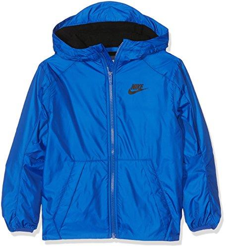 Nike Jungen Fleece Lined Jacke, Game Royal/Black, XS (Royal Blau Nike Jacke)