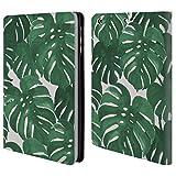 Offizielle Charlotte Winter Monstera Tropische Muster Brieftasche Handyhülle aus Leder für Apple iPad mini 1 / 2 / 3