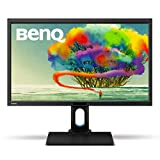 BenQ BL2711U 68,58 cm (27 Zoll) Monitor (4K UHD, HDMI, DVI, VGA, USB, 4ms Reaktionszeit, Höhenverstellbar, Pivot, Lautsprecher) schwarz