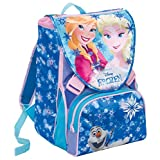 Zaino Scuola Estensibile Disney FROZEN, MAGIC LIGHTS, Blu, 28 Lt, Led luminosi + Gadget inlcuso!