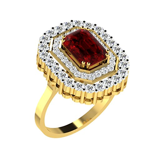 [Sponsored]His & Her Gold, Diamond And Ruby Ring For Women