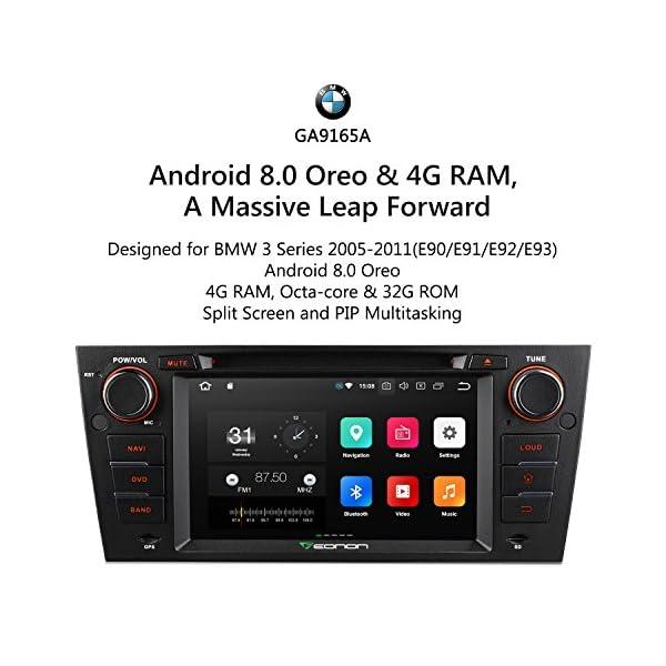 eonon Android 8 Indash Car Digital Audio Video Stereo Autoradio 7