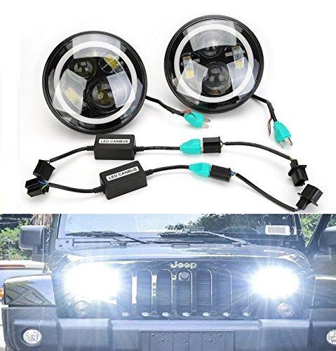 faro-anteriore-cicmod-2pz-fanale-7-hid-lampada-led-faro-proiettore-abbagliante-anabbagliante-ip68-pe