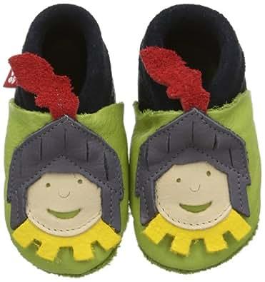 Pololo Boys' Ritter blau/pistazie Walking Baby Shoes Green Size: 1.5/2.5 UK Child