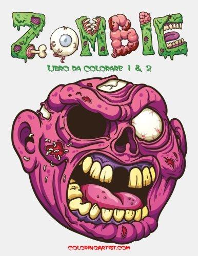 Zombie Libro da Colorare 1 & 2