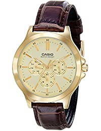 Casio Analog Gold Dial Men's Watch - MTP-V300GL-9AUDF (A1175)