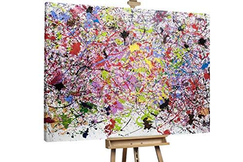 'Future in Mind' 200x150cm | Abstrakte Kunst Rot Deko | Modernes Kunst Ölbild