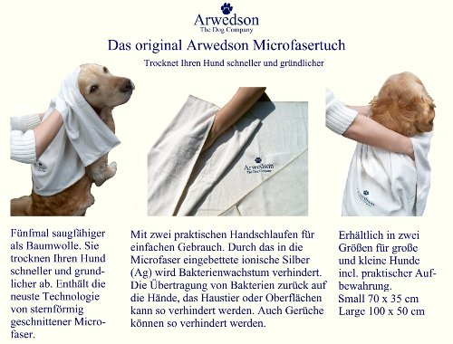 hundeinfo24.de antibakterielles Hundehandtuch aus Mikrofaser