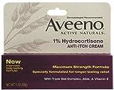 Aveeno 1% Hydrocortisone Anti-Itch Cream, Maximum Strength, 1-Ounce - Best Reviews Guide