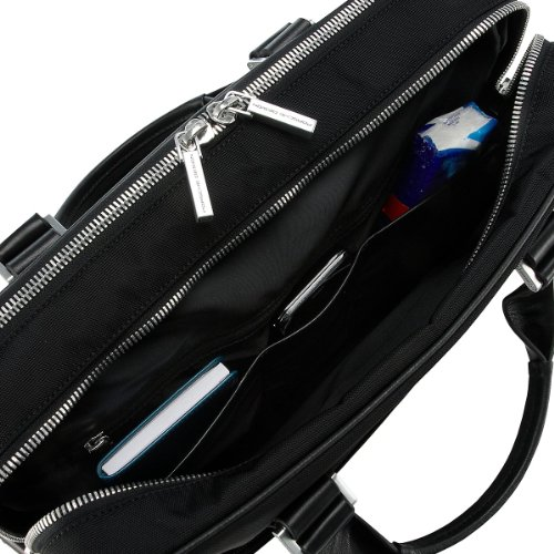 Porsche Shyrt-nylon Briefbag Mz 2, Sacs portés main Gris - Grau (dark grey 802)