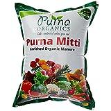 Purna Organics Mitti - Ready To Use Organic Potting Mix 5Kg (1X5Kg Bag)