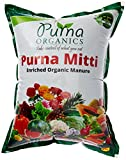Purna Organics Mitti - Ready To Use Organic Potting Mix 5Kg (1X5Kg Bag)