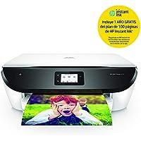 HP Envy Photo 6234 con 1 Año del Plan de 100 Páginas de HP Instant Ink Incluido. - Impresora Multifunción (Inyección de Tinta Térmica, 4800 x 1200 dpi, 125 Hojas, A4, Impresión Directa), Color Blanco