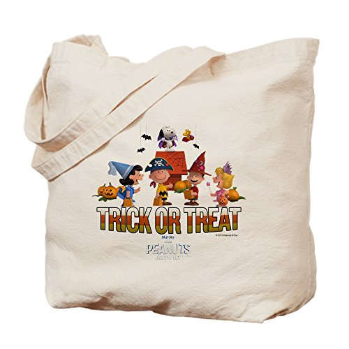CafePress The Peanuts Movie - Trick Or Treat Tote Bag, canvas, khaki, S
