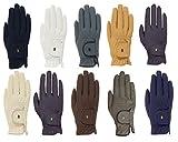 Roeckl -Roeck Grip- Handschuh, Unisex, Reithandschuh, Anthrazit, Größe 8