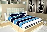 """Best Flat Pillows - Casa Copenhagen 108"""" x 108"""" Bleed in Blue Review"""