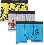 Lego Wear Jungen Boxershorts Lego Boy Ninjago UMER 101-BOXERSHORTS im 3-er Pack, 3er Pack, Mehrfarbig (Blue 538), 146