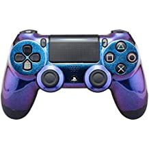 eXtremeRate® Purple and Blue Chameleon Front Housing Shell Faceplate for Playstation 4 PS4 Slim PS4 Pro Controller JDM-040