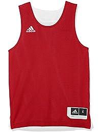 adidas Y Rev Crzy Ex J Camiseta de Baloncesto, Unisex niños, Rojo (Rojpot