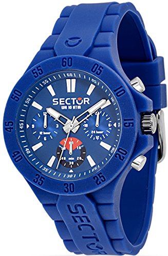 Reloj acero azul silicona Touch multifunción hombre R3251586002 del sector