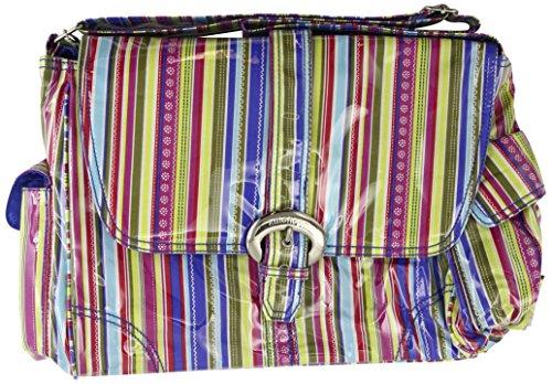 panal-kalencom-moda-bolsa-cambio-de-bolsa-panal-bolsa-mommy-bag-laminado-hebilla-del-bolso-cobalto-s